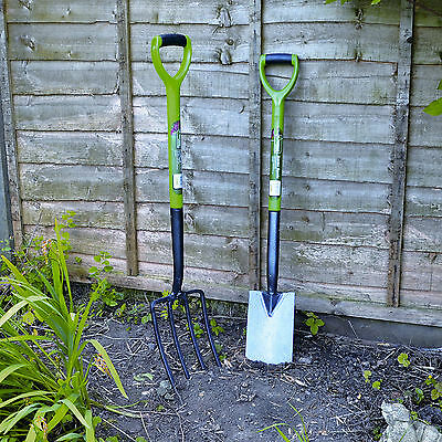 Two Piece Garden Spade and Fork Set