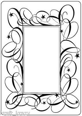 Crafts Too Embossing Folder Swirl Frame Ctfd3008 Cardmaking