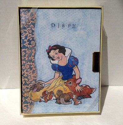 Disney SNOW WHITE 150 Lined Page Journal Diary New