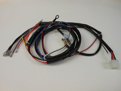new harley flh complete wiring harness bull picclick new 1978 1979 harley flh main wiring harness
