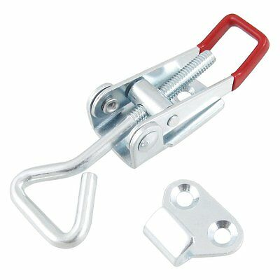 """Home Toolbox Case Spare Fitting Metal Toggle Latch Catch 4"""" SP"""