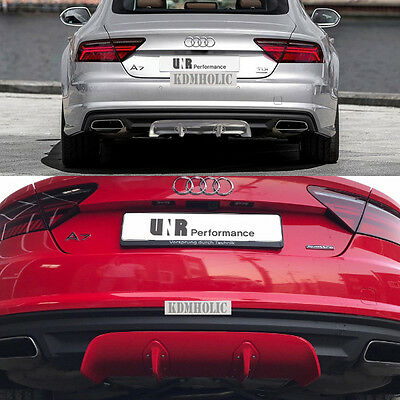 Length Adjustable Rear Diffuser for Audi A7 2010+