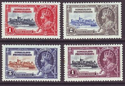 Somaliland 1935 SC 77-80 MH Set Silver Jubilee