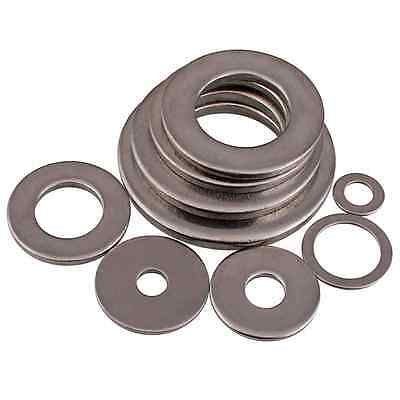 M3-M20 Thick=0.8mm FLAT WASHERS TO FIT METRIC BOLTS/SCREW A2 304 STAINLESS STEEL