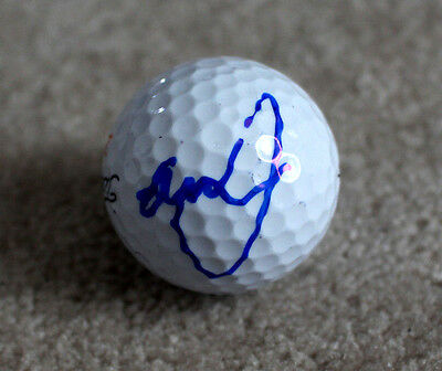 GRAEME MCDOWELL SIGNED AUTHENTIC TITLEIST GOLF BALL w/COA PGA STAR RYDER CUP
