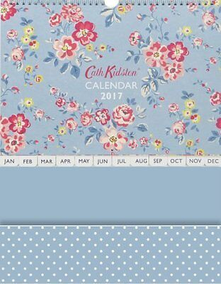 cath kidston family calendar 2017 thorpe flowers new sealed picclick uk. Black Bedroom Furniture Sets. Home Design Ideas