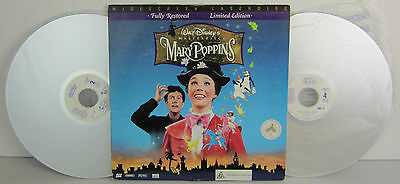 Movie Laser Discs – Walt Disney'S Mary Poppins – Widescreen Limited Edition