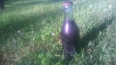 Rare Early 1900s Coca-Cola Bottle Root Glass Terre Haute Indiana Byrd Bros Full