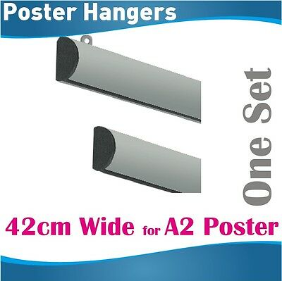 42cm A2 Poster Hangers Gripper Poster hanging rail hanging rails