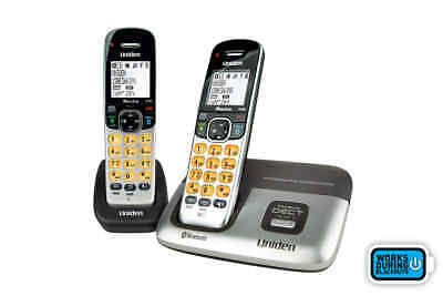 Uniden Premium DECT Digital Cordless Phone System with Bluetooth (2 Phones)