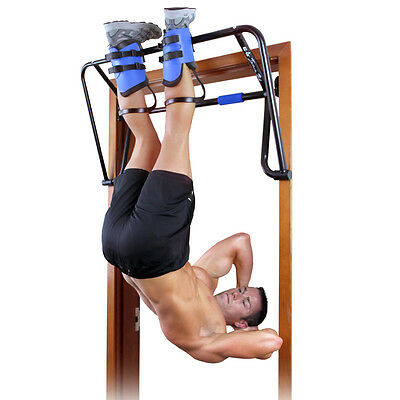 Teeter Hang Up Inversion System Gravity Boots Lumber Support Weights Fitness Abb