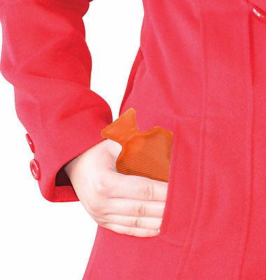 POCKET HOTTY - Orange - Water Bottles Style Pocket Reusable Hand Warmer **NEW**