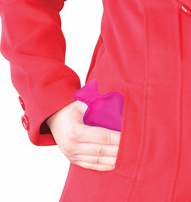 POCKET HOTTY - Pink - Water Bottles Style Pocket Reusable Hand Warmer **NEW**