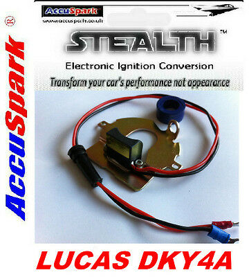 Morris 8 10 Electronic Ignition Kit Negative Earth for Lucas DKY4A Distributor