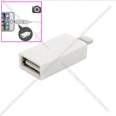 8 Pin Lightning Host Cable Male to USB Female OTG Adapter iphone ipad / Android