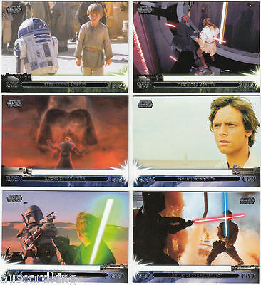 Star Wars - Jedi Legacy - Complete Trading Card Set (90) - TOPPS 2013 - NM