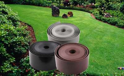 Garden Lawn Edging Plastic Lawn Edging High Density PE 2mm Thick 10/15/50m Long
