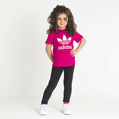 T-shirt Trefoil infant Adidas Originals Tg: 6-9;9-12 mesi; 2-3; 3-4 anni