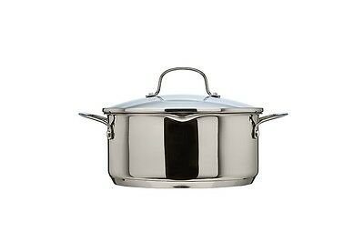 Thomas Cook & Pour 24cm 4.7L Casserole with Glass Lid