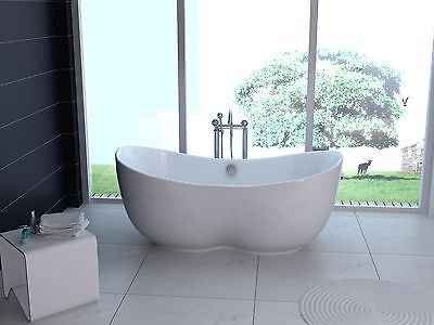 1700 mm Free Standing Roll Top Bath, one piece Free Delivery UK