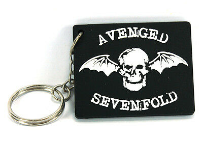 RockHyena AVENGED SEVENFOLD Keychain Keyring Key chain (Hail To The King) AA60
