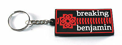 RockHyena BREAKING BENJAMIN Keychain Keyring Key (Dance With The Devil) AA235