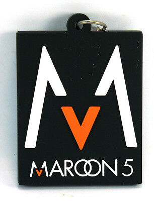 RockHyena MAROON 5 New! Rubber Keychain Keyring Key chain (One More Night) AA61