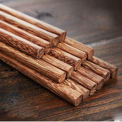 10 pairs Natural Chicken wing wood Health eco-friendly Chopsticks Tableware