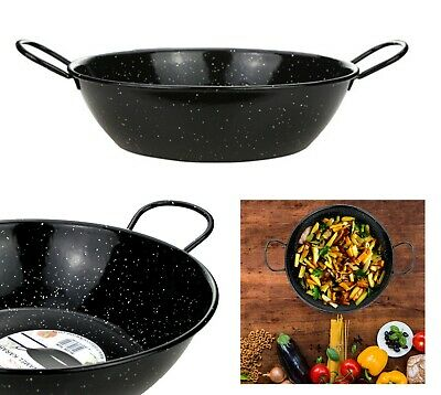 Enamel Karai Wok - Heavy Duty - Longlife - ideal for frying - ORIGIANAL ITEM