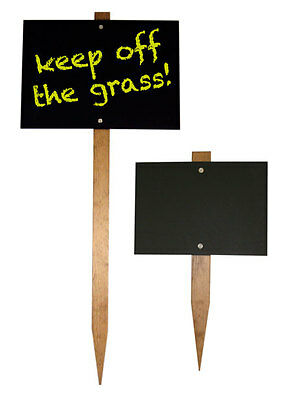 Quality Stake Chalkboard Blackboard - For Outdoor Use 3 Sizes Available