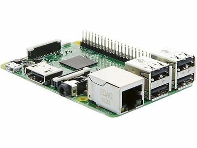 Raspberry Pi 3 Model B Broadcom BCM2837 64bit ARMv8 QUAD Core 64bit Processor po