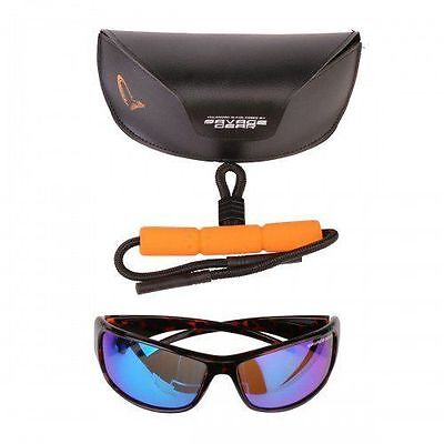 Savage Gear Evil Eyes Polarized Fishing Sunglasses - Amber (Sun & Clouds) 48835