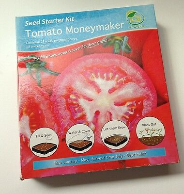 Tomato Moneymaker Seed Starter Kit Grow Your Own