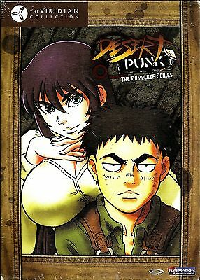 Desert Punk: Complete Series. Sci-Fi Comedy Anime. New!
