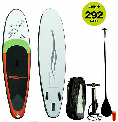 SUP: Shark1 Prowake Stand Up Paddle Board 292cm (inflatable) Set Surfbrett Board