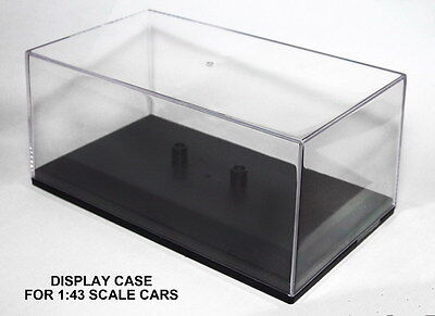 5 x DISPLAY CASE for CARARAMA Diecast Car Models Scale 1:43