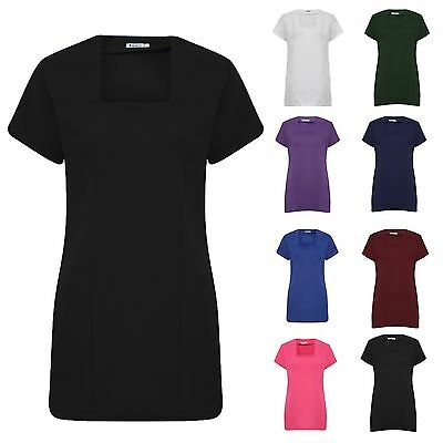 SPA Beauty & Hair Salon/Hairdressing Beautician  Nail Massage Therapist Tunic T9