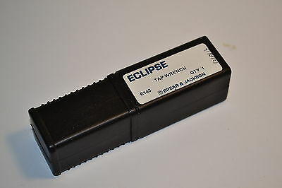 NOS ECLIPSE UK E143 T-Handle TAP WRENCH  Length 90mm,  3mm - 8mm Square Cap.