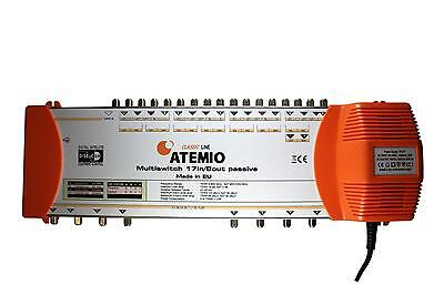 Atemio Classic Line 17 in /8 out Multiswitch With 2 Year Warranty