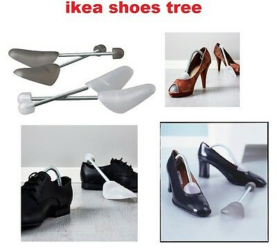 IKEA OMSORG Shoes Trees for Men/Women, (large ans small) (grey and white color)