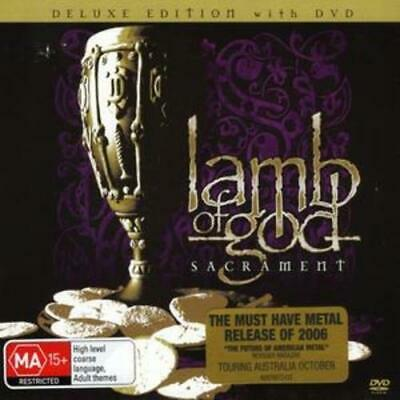 Lamb of God : Sacrament [deluxe Edition Cd + Dvd] [australian Import] CD (2006)