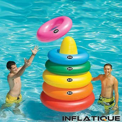 Inflatable Swimming Pool Toy Game | Swimline Giant Ring Toss