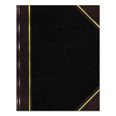 National Texthide Notebook Black/Burgundy 300 Pages 9 1/4 x 6 A45300