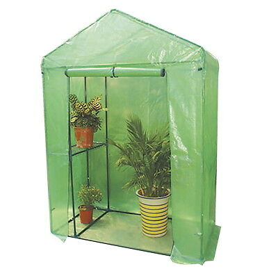 4 Tier Greenhouse 200x150x75cm with Shelves Portable Weatherproof PVC Cover