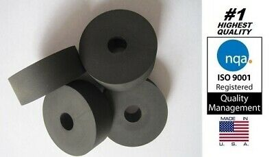 "Premium Rubber Multi-purpose Spacer, 2"" OD x 1/2"" ID x 3/4"" Thick (AVS-X19-16)"