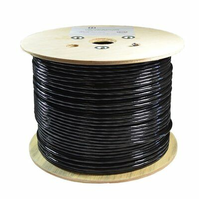 1000Ft Cat6 100% Copper Outdoor Direct Burial Solid Utp Ethernet 23Awg Ldpe