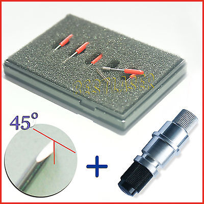 2 Units Graphtec Cb09 Blade Holde  +10 Pcs 45° Blades For Cutting Plotter Cutter