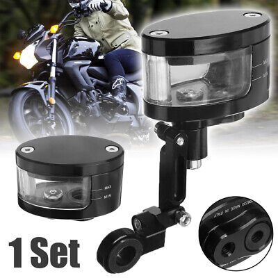 CNC Brake Clutch Master Cylinder Fluid Reservoir Tank Oil Cup Motorcycle