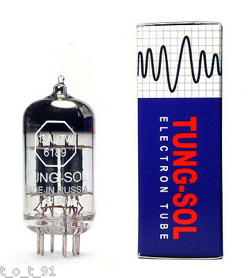 TUNG-SOL 12AU7W  6189  ECC83  12AU7 TUBE TUNGSOL selected