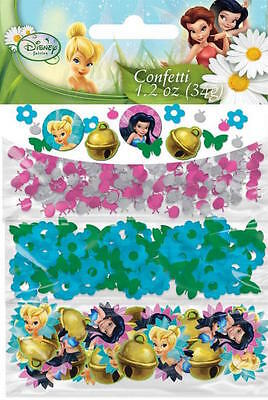 TINKER BELL PARTY SUPPLIES CONFETTI DISNEY PRINCESS FOR TABLE DECORATIONS (34g)